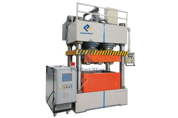 single mould wood pallet machine