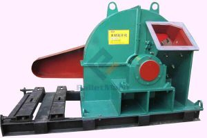 Disk type wood chipper machine