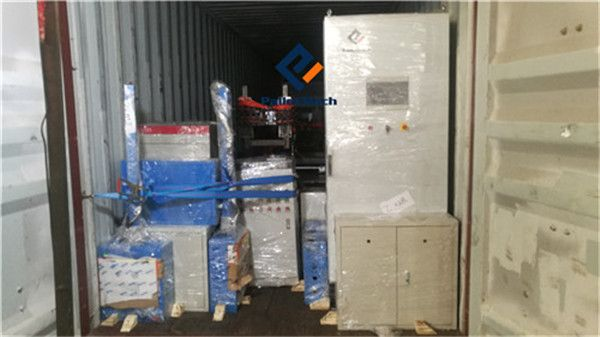 shipment of wood pallet machine