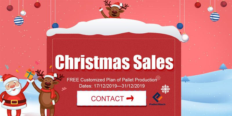 Christmas sales palletmach