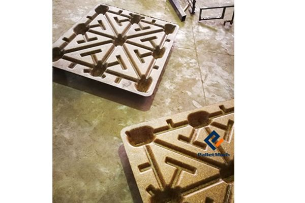 PalletMach Has Produced Palm Leaves Pallet Successfully