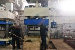 Russian Presswood Pallet Machine Installation Smoothly