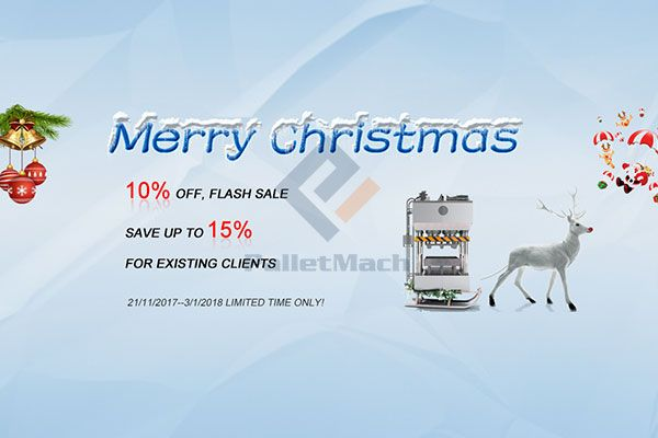 PalletMach Christmas Sale 2017