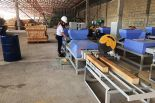 Semi-Auto Wood Pallet Block Production Line