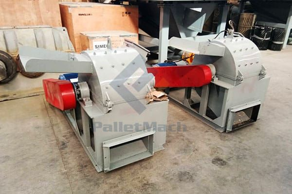 Small-Size Wood Crushing Machine