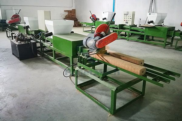 Tunisia wood pallet block production line