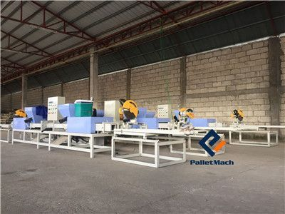 Wood Pallet Block Production Line Installation in the Philippines