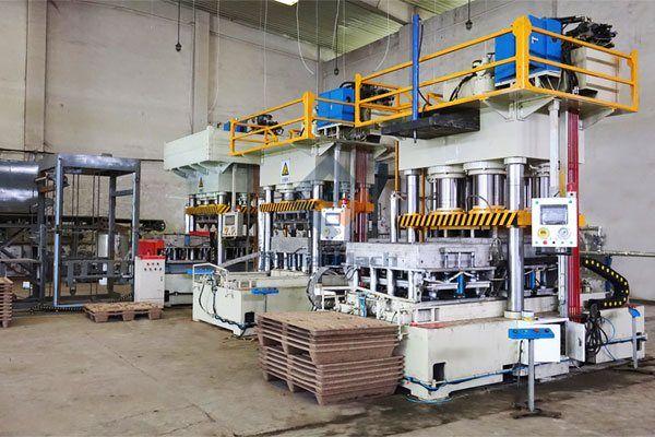 Presswood Pallet Production Line