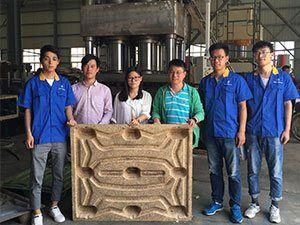 wood pallet machine case