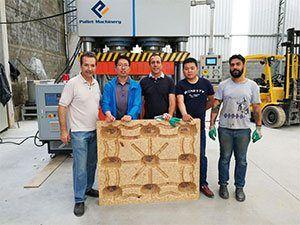 wood pallet machine case 1