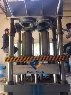 presswood pallet press machine