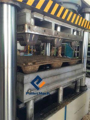 presswood pallet making machine testing