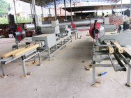 pallet block production line in China
