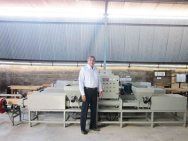 pallet block production line in India