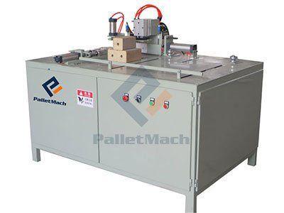 Auto wood block cutting machine