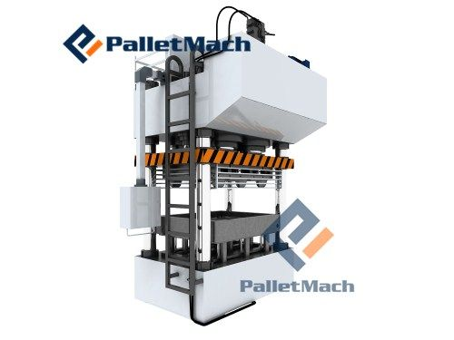 compressed plastic pallet machine