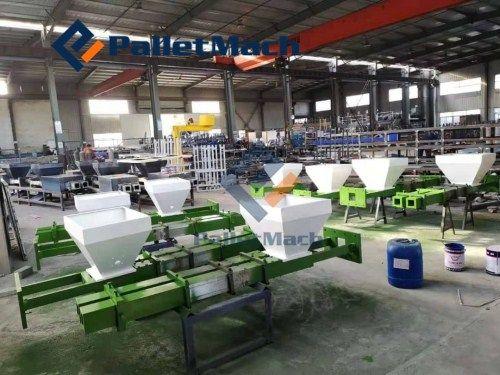pressed pallet block machine