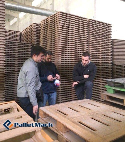 pressed wood pallet business