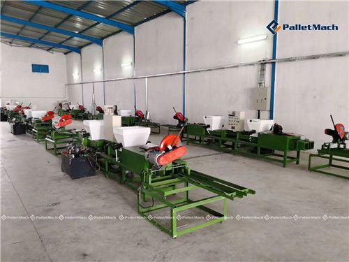 automatic pallet block production line